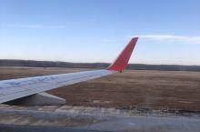 内蒙古兴安盟乌兰浩特市义勒力特机场随拍。寒冷的冬日,从这里启程,因为带的行李有点多,下了出租车后去找