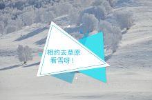 反季旅行!乌兰布统坝上 乌兰布统旅游区   冬季草原图片大赏 冬季雪后的草原,是白茫茫的一片,雾凇冰