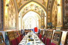 伊朗伊斯法罕古浴室餐厅、皇家拱桥、三十三拱桥。
