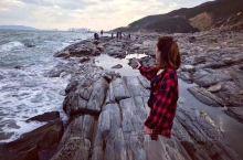 盐洲岛盐田和黑排角来自游客拍的真实美景。