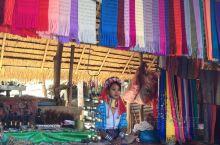 打卡泰国清迈大象营,偶遇当地美丽的长颈族部落少女
