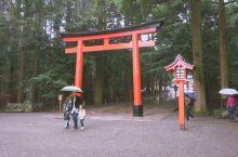 穿上和服到「雾岛神宫」参拜 雾岛神宫是鹿儿岛的重要精神指标,也是南九州最大的神宫,祭祀着日本传说中的