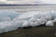 班公湖冰景!
