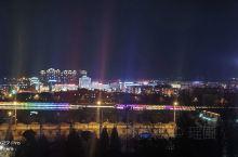 薛家湾夜景,好想出去玩啊
