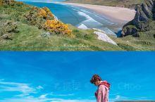 传说可以拯救爱情的海滩——罗西里湾     •天鹅海斯旺西边的罗西里小镇    •隐藏着一片可以挽回