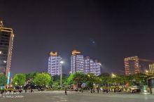 萧山的夜景