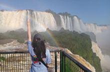 """来过伊瓜苏的朋友都说这里超棒,因此,这也是我很期待的一站。 伊瓜苏瀑布的名字意思是""""大水"""",它是南美"""