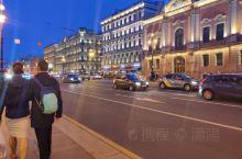 圣彼得堡夜  街景