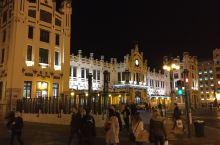 火车站夜景
