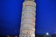 #亚平宁半岛之自由奔走#比萨斜塔篇        趁着傍晚的夜色,打卡大名鼎鼎的比萨斜塔,建造于11