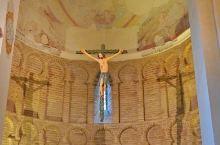 国王在这里找到了基督雕像。