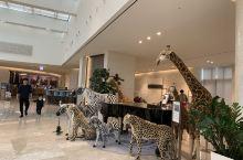蓝鼎酒店。大堂很美。部分服务人员会中文。