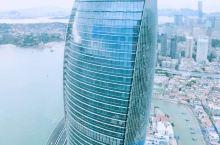 厦门的摩天楼真漂亮