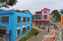 一个集多彩生态、农业观光、乡村生活于一体的贺州富川「七彩虎头村」,有休闲区、特色绿道、儿童乐园、户外