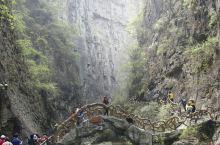 山西八泉峡,冰洞