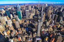 【纽约】帝国大厦、自由女神、时代广场都是NY的地标建筑,在曼哈顿这个寸土寸金的地方,建筑都在往高加盖