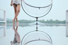 艾兰格丝形体礼仪学员如意打卡马来西亚天空之镜,一切美好源于美的心灵与美的心情!