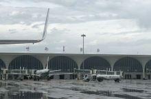 雨后的呼伦贝尔机场