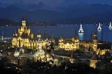 #国庆迷惑旅行大赏#越南芽庄的海上迪斯尼--珍珠岛游乐园,这里拥有三万平方米的超大场地,有水上城堡乐