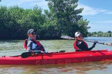 海上皮划艇,不是第一次玩,越来越喜欢,在佛罗里达州迈尔斯堡Fort Myers西部的卡普蒂瓦岛Cap