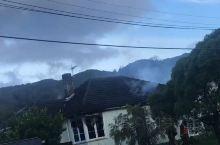 惠灵顿的一所民宅起火了