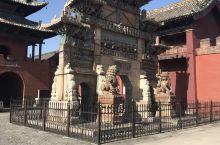 山西运城关帝庙,很有沧桑感,没什么特色。 解州关帝庙