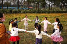 小朋友们去秋游,还不错的一个公园,很大,在长兴岛,小孩玩的东西很多,探险乐园都是室外的攀爬的,玩起来