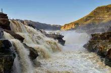 """黄河壶口瀑布,号称""""黄河奇观"""",是黄河上唯一的黄色大瀑布,也是中国的第二大瀑布,地处晋陕大峡谷中段,"""