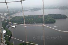 高空下鸟瞰天目湖