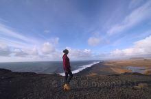 去往维克小镇的路上,远眺黑沙滩,风景极致。 维克·冰岛南部区