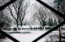 燕山大学  燕大的雪