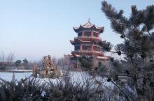 雪后嫩江湾 银装景更艳