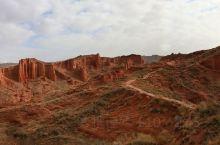 新疆 温宿大峡谷,超广角,全景拼接。 温宿大峡谷