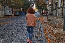 再探巴尔干 斯卡达利亚大街的鹅卵石踩着很踏实