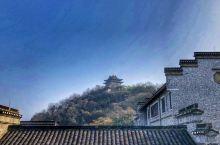 西津渡古街 春节前带孩子来逛一逛镇江,第一晚住在西津渡景区边上。第二天一早,逛了下西津渡景区,整个景