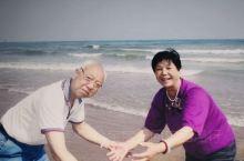 与桂林山水很相似的下龙湾  2008年,爸妈在下龙湾的欢乐时光!