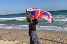 土耳其瓦伦西亚的一个没有商业化的海滩