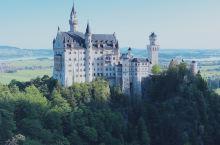 打卡迪士尼的原型-童话城堡-新天鹅堡  新天鹅堡,迪士尼的原型,也是我们心目中的童话城堡,周杰伦的婚