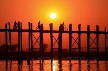 乌本桥,世界十大落日风景之一