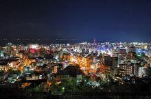 城山展望台观鹿儿岛夜景