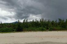岘港灵菇海滩,几乎没有游客,沙很细