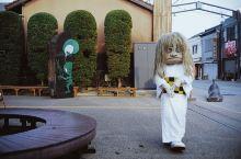 坐着鬼太郎列车来到这里游玩,名气虽然没有柯南小镇响亮,但是一条非常用心设计的小街。 主题就是鬼太郎,