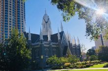 2019中秋节的盐湖城摩门教教堂