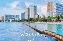 夏威夷 Waikiki沙滩