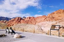 红岩峡谷国家保护区,即The Red Rock Canyon National Conservati
