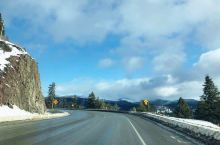 返回温哥华路上的美景