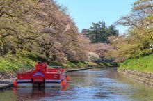 富山环水公园游船,静静地享受这个春天