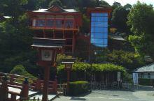 日本的寺庙,很特别,这对老夫妻卖的章鱼超好吃