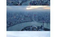 55s上天70s入地,上海中心的电梯速度体验满分!从黄昏到夜幕,在中国第一高楼俯瞰,被今日陆家嘴的繁