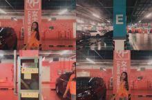 """停车场是一个拍照最佳随意场所 这里可以产生无数种风格的大片既视感 随意几个动作让你停不下来的""""咔咔咔"""